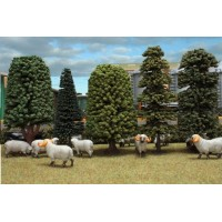 Lot de 5 arbres
