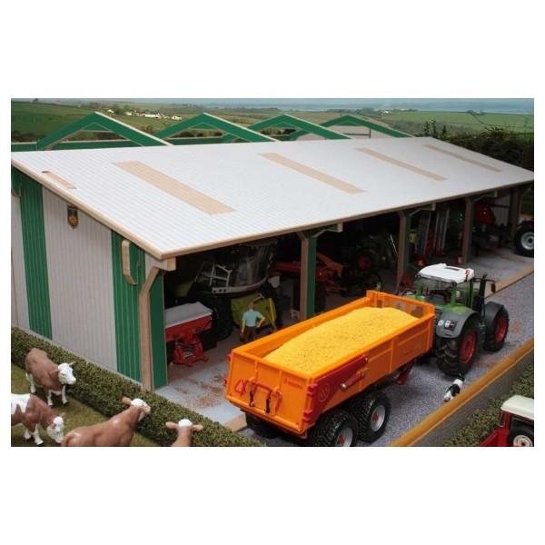 Extension pour hangar mat riel 100 cm chenedol tractor for Hangar pour voiture