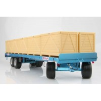 Maupu 6 roues bleu 1180/200