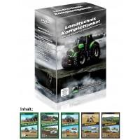 Pack 5 DVD : Récolte-Ensilage-Gros Matériel