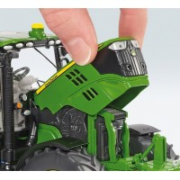 John Deere 6125 R + chargeur H340 - Wiking
