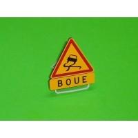 """Panneau """"Boue"""""""