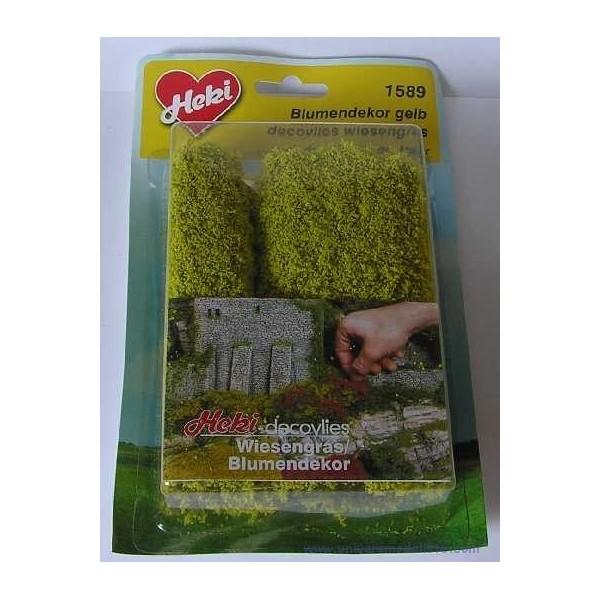 tapis champs de colza en fleurs 28 cm x 14 cm. Black Bedroom Furniture Sets. Home Design Ideas