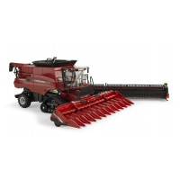 Moissonneuse Case IH 9240 + ceuilleur repliable