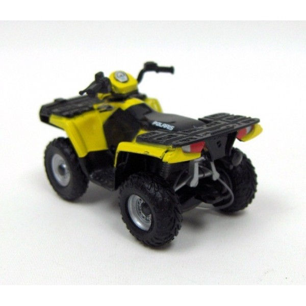 quad polaris jaune