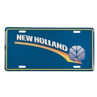 "Plaque Métal "" New Logo New Holland"""