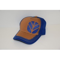 "Casquette New Holland "" Bleue et Marron"""