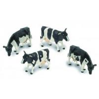 4 vaches Frisonnes