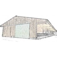 Hangars - Stabulation - Maison