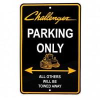Plaque Métal Challenger